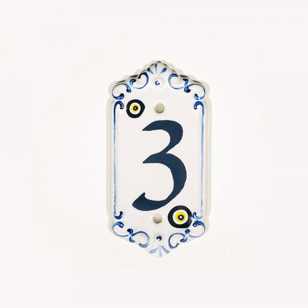 Porselen Kapı Numarası