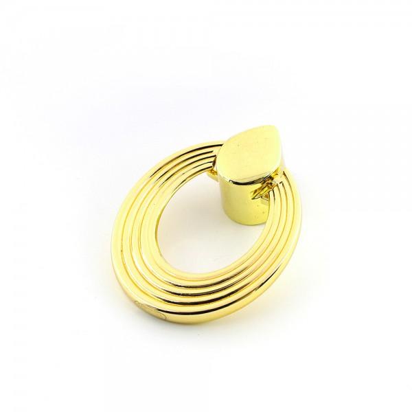 Metal Satürn  Antik Altın Kulp