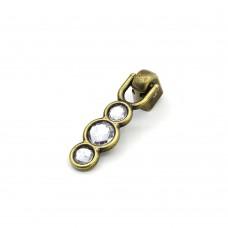 Metal Merkür Antik Sarı Kulp
