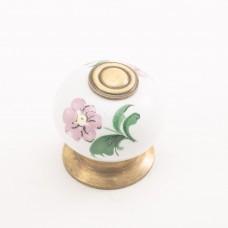 Porselen Ç.Rustic Düğme Kulp