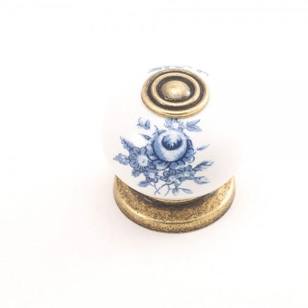 Porselen Ç.Rustik Düğme Kulp