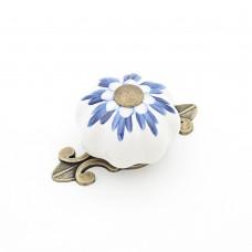 Porselen Antik Kavuk Düğme Kulp