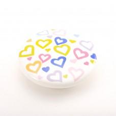Porselen Büyük Ufo Düğme Kulp