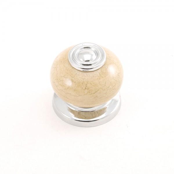 Porselen Rustik Krom Düğme Kulp