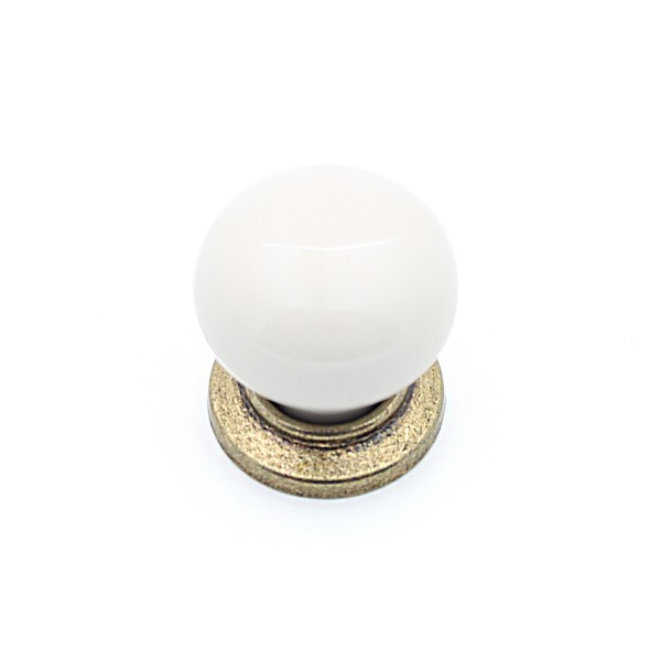 Porselen Yıldız Düğme Düğme Kulp