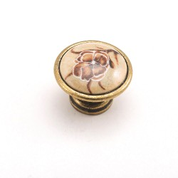 Porselen Efes Düğme Kulp