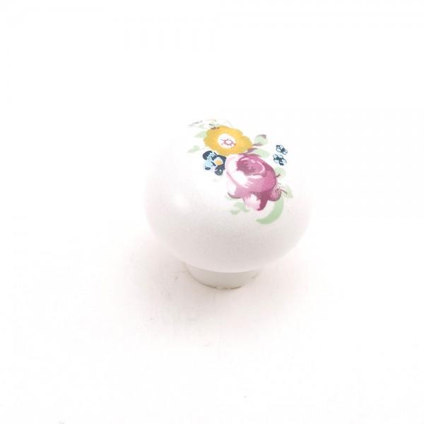 Porselen Büyük Top Düğme Kulp