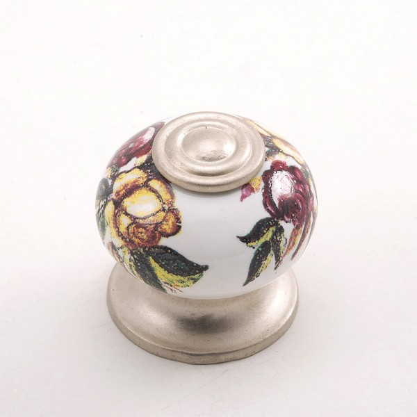 Porselen Rustik Düğme Kulp