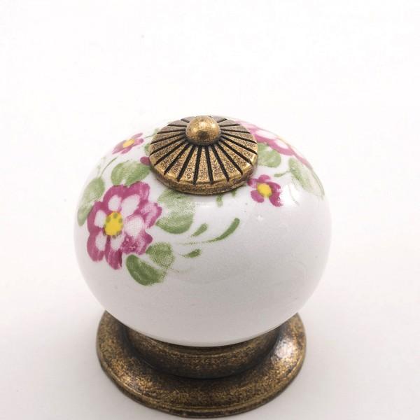 Porselen T.Rustik Düğme Kulp