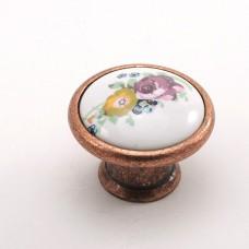 Porselen Büyük Göreme Düğme Kulp