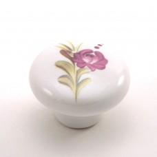 Porselen Büyük Mantar Düğme Kulp