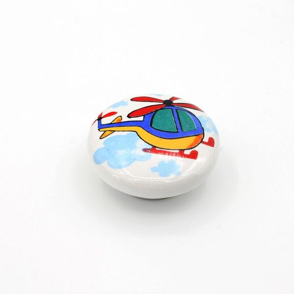 Porselen Ufo Serg Düğme Kulp